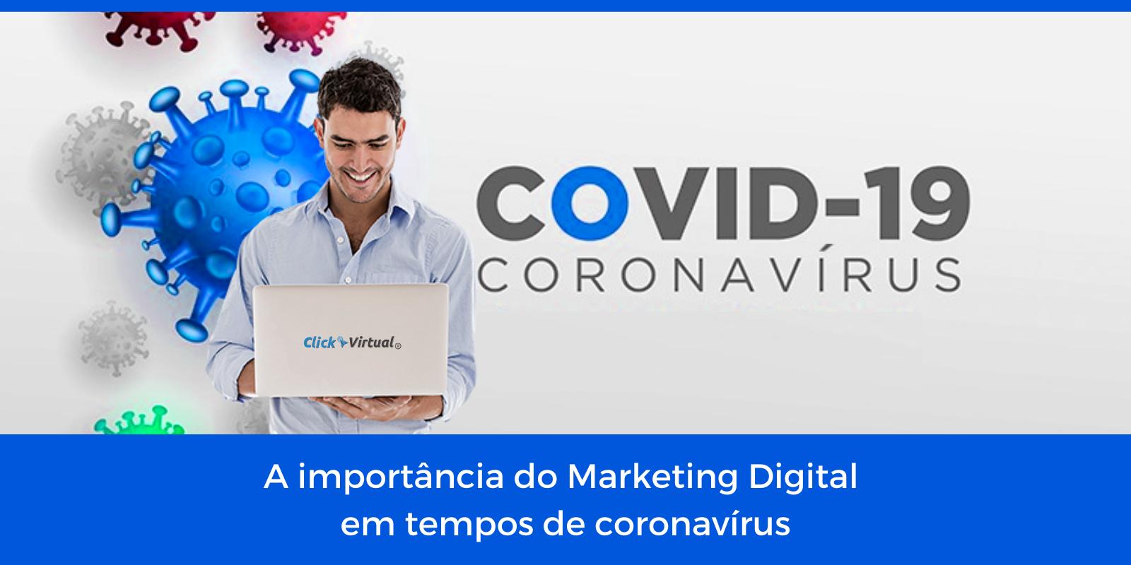 Marketing digital na crise do COVID-19